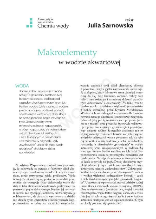 makroelementy w akwarium