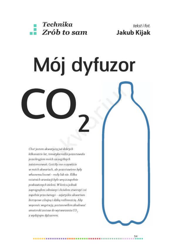 dyfuzor co2