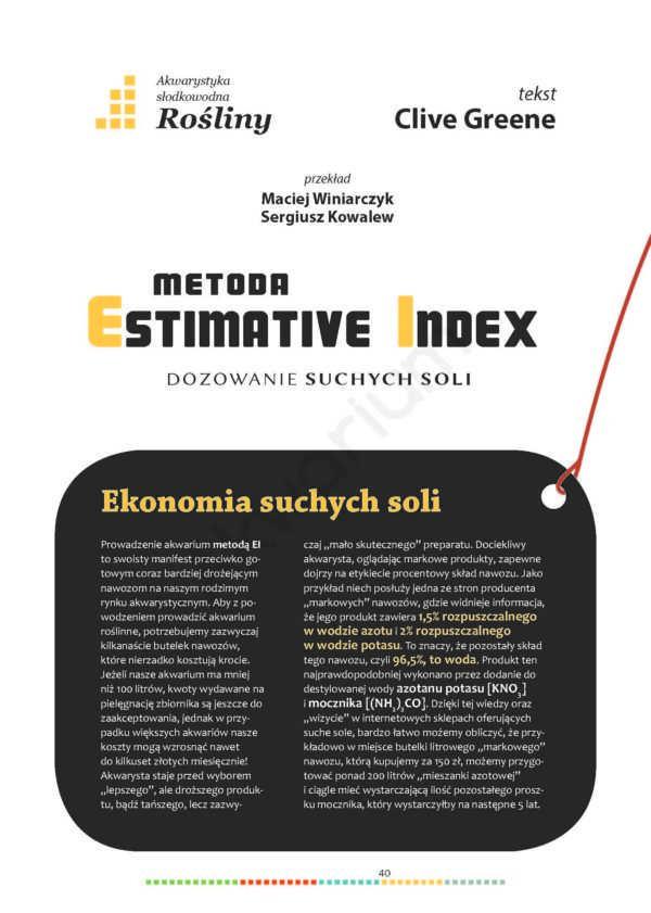 Estimative Index