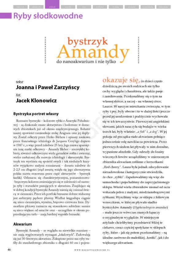 Bystrzyk Amandy