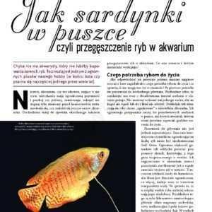 przegęszczenie ryb