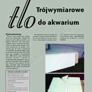 tło do akwarium