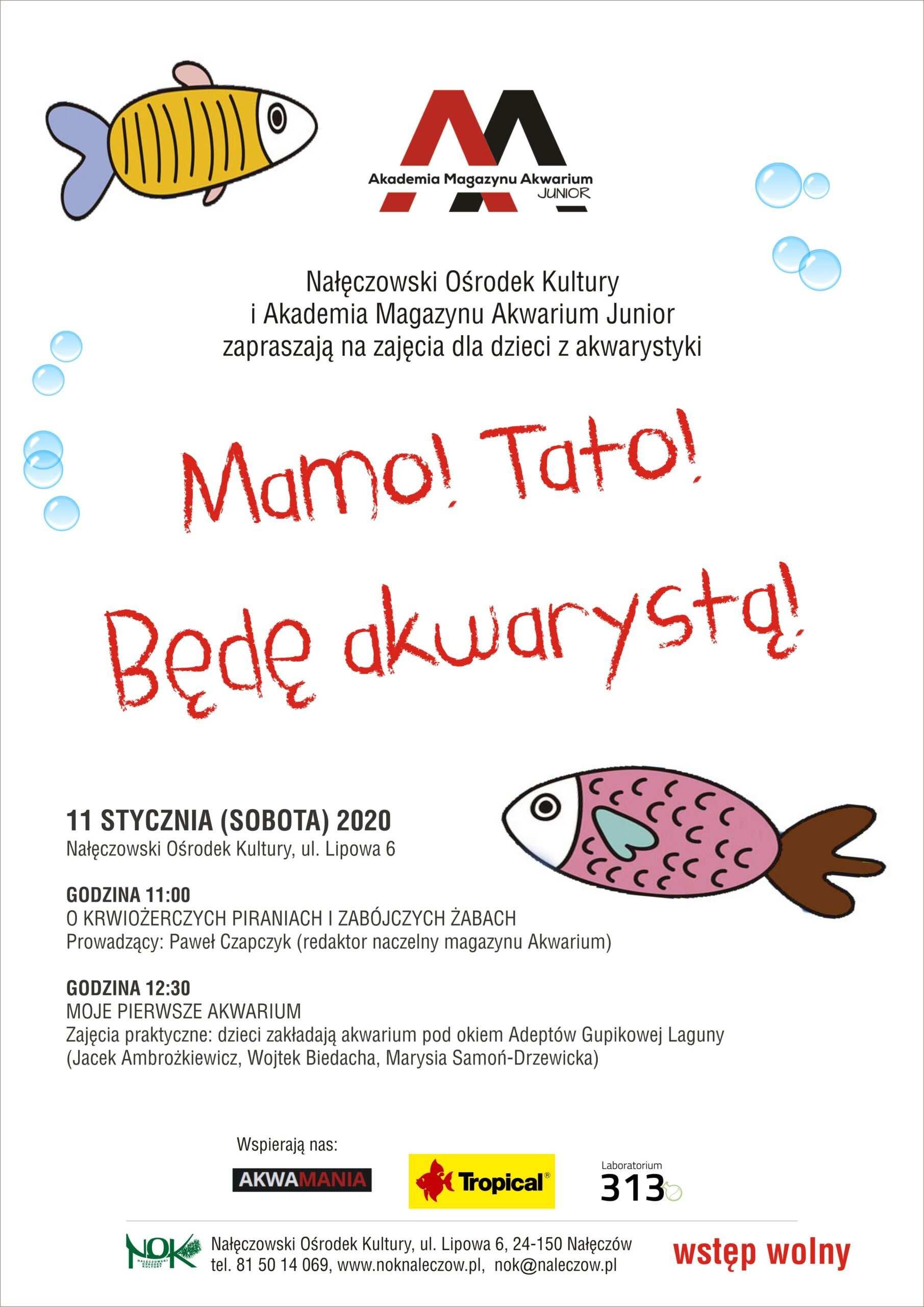 Akademia Magazynu Akwarium Junior w Nałęczowie