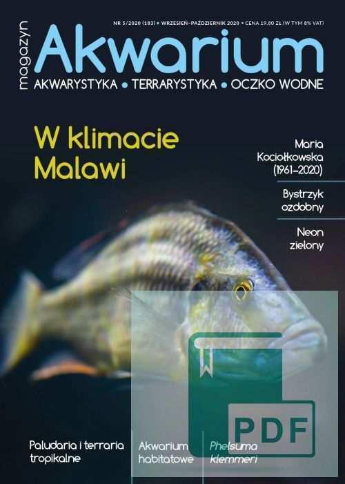 Magazyn Akwarium czasopismo 5/2020