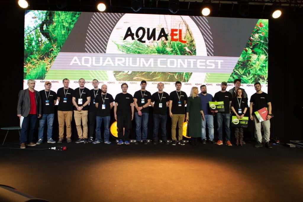 Konkurs aquascapingu, Warszawa 2019, fot. Aquael
